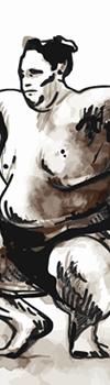 Sumo Wrestler 力士